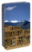 North Pueblo Taos Portable Battery Charger