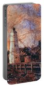 Ocracoke Island Lighthouse Portable Battery Charger