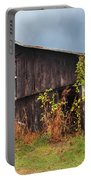Ohio Barn In The Fall Portable Battery Charger