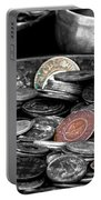 Old Coins Portable Battery Charger