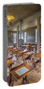 Old Schoolroom Portable Battery Charger