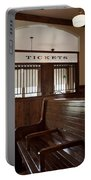 Old Time Train Station Portable Battery Charger
