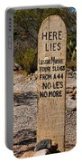 Old Tucson Graveyard Portable Battery Charger