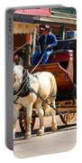 Old Tucson Stagecoach Portable Battery Charger