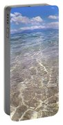 On The Horizon Portable Battery Charger by Debbie Cundy