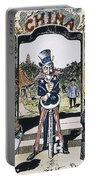 Open Door Cartoon, 1900 Portable Battery Charger