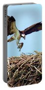 Open Wings Portable Battery Charger by Karen Wiles