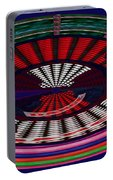 Opposit Arc Pattern Abstract Digital Graphic Art Interior Decorations Buy Painting Print Poster Pill Portable Battery Charger by Navin Joshi
