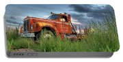 Orange Truck Portable Battery Charger