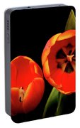 Orange Tulip Macro Portable Battery Charger