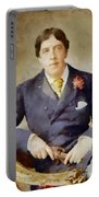 Oscar Wilde, Literary Legend Portable Battery Charger