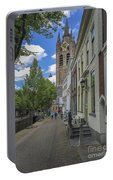 Oude Kerk In Delft Portable Battery Charger
