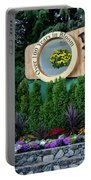 Over 100 Yrs In Bloom, Historic Garden Icon, The Butchart Gardens. Portable Battery Charger