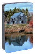 Owls Head Barn Portable Battery Charger