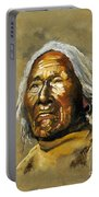 Painted Sands Of Time Portable Battery Charger