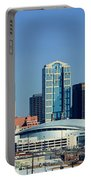 Panoramic View Of Nashville, Tennessee Portable Battery Charger