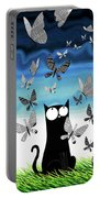 Paper Butterflies  Portable Battery Charger