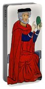Paracelsus, Swiss Doctor And Alchemist Portable Battery Charger