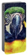 Parrot Art  Portable Battery Charger