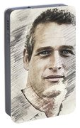 Paul Newman, Actor Portable Battery Charger