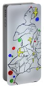 Peace The Inner Message Poster South Sudan Portable Battery Charger
