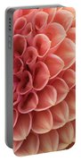 Peachy Dahlia Portable Battery Charger