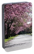 Pink Blooming Trees Portable Battery Charger