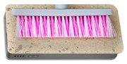 Pink Broom Portable Battery Charger