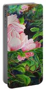 Pink Cascade Portable Battery Charger