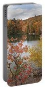 Pink Lake Portable Battery Charger
