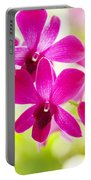 Pink Orchid Lei Portable Battery Charger