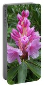 Pink Rhododendron 0070 Portable Battery Charger
