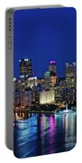 Pittsburgh Night Skyline Portable Battery Charger