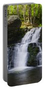 Pocono Mountains - Flowing Cascades Portable Battery Charger