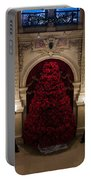 Poinsettia Christmas Tree The Breakers Portable Battery Charger