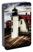 Point Betsie On Lake Michigan Portable Battery Charger