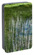 Pond Grasses Portable Battery Charger