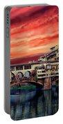 Ponte Vecchio Bridge Portable Battery Charger