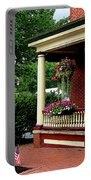 Porch With Hanging Plants Portable Battery Charger