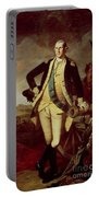 Portrait Of George Washington Portable Battery Charger