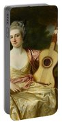Portrait Of Maria Walpole Portable Battery Charger