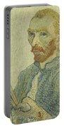 Portrait Of Vincent Van Gogh Portable Battery Charger