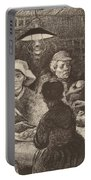 Potato Eaters, 1885 Portable Battery Charger