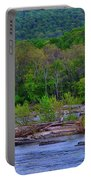 Potomac River Near Harpers Ferry Portable Battery Charger