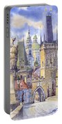 Prague Charles Bridge Portable Battery Charger