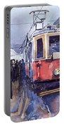 Prague Old Tram 03 Portable Battery Charger