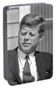 President John Kennedy Portable Battery Charger