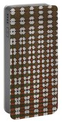 Prickly Poppy Abstract Portable Battery Charger