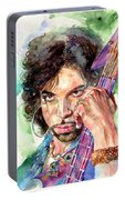 Prince Rogers Nelson Portrait Portable Battery Charger