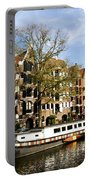 Prinsengracht Portable Battery Charger by Fabrizio Troiani